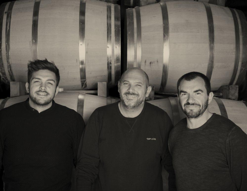 camplazens- les dirigeants Philippe, Yann et Léandre